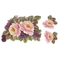 Aplique-em-Tecido-Rosas-e-Frambuoesas-ATM006---Toke-e-Crie-by-Mamiko