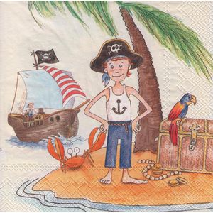 Guardanapo-Decoupage-Meninos-Piratas-2un-L543700---Toke-e-Crie