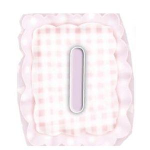 Aplique-Madeira-e-Papel-Placa-Letra--I--Menina-LMAPC-300---Litocart