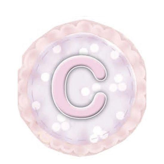 Aplique-Madeira-e-Papel-Placa-Letra--C--Menina-LMAPC-294---Litocart