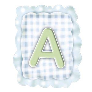 Aplique-Madeira-e-Papel-Placa-Letra--A--Menino-LMAPC-266---Litocart
