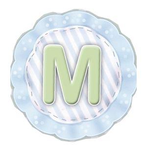 Aplique-Madeira-e-Papel-Placa-Letra--M--Menino-LMAPC-278---Litocart