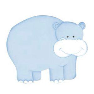 Aplique-Madeira-e-Papel-Placa-Hipopotamo-LMAPC-253---Litocart