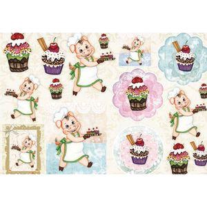 Papel-Decoupage-Grande-Porquinho-e-Cupcake-LD-796---Litocart