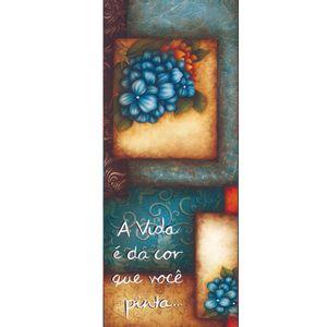 Placa-Decorativa-Madeira-Retangular-50x20-Flores-LPRC-02---Litocart