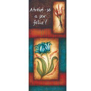 Placa-Decorativa-Madeira-Retangular-50x20-Flores-e-feliz-LPRC-01---Litocart