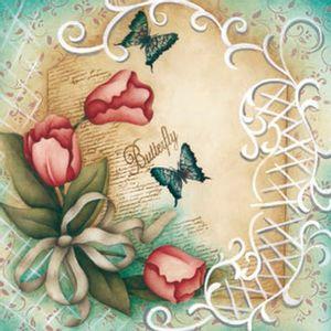 Placa-Decorativa-Madeira-Pequena-Borboleta-LPPC-07---Litocart