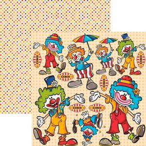 Papel-Scrapbook-Duplo-Colecoes-Palhacos-Recortes-SDF534-By-Flavia-Terzi