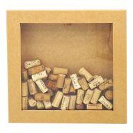 Quadro-para-Rolhas-de-Vinho-Arte-Francesa-35x35x6cm-com-Vidro---MDF