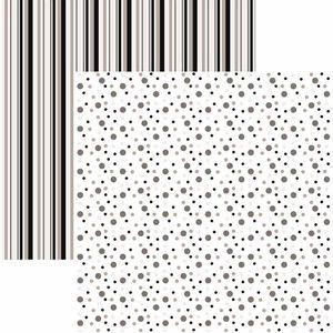 Papel-Scrapbook-Duplo-Multitons-Poa-e-Listras-Grandes-Preto-e-Branco-KFSB379-By-Vlady