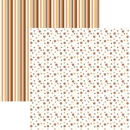 Papel-Scrapbook-Duplo-Multitons-Poa-e-Listras-Grandes-Marrom-KFSB380-By-Vlady