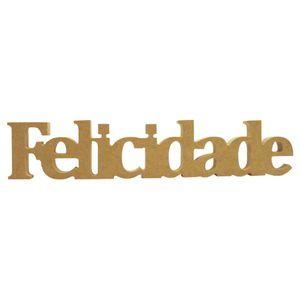 Recorte-Enfeite-de-Mesa-Felicidade-10x50cm---Madeira-MDF