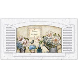 Placa-Decorativo-Janela-com-Flores-45x24-em-MDF-DHPM5-020---Litoarte
