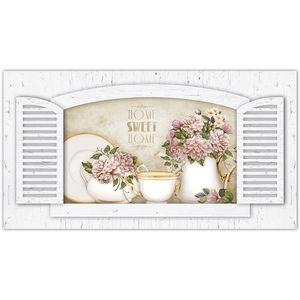 Placa-Decorativo-Janela-com-Cha-45x24-em-MDF-DHPM5-019---Litoarte
