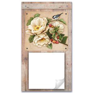 Porta-Recado-Flor-com-Passaro-25x14-em-MDF-DHPM5-003---Litoarte
