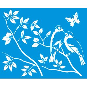 Stencil-Flor-com-Passaro-172x211-STM-306---Litoarte