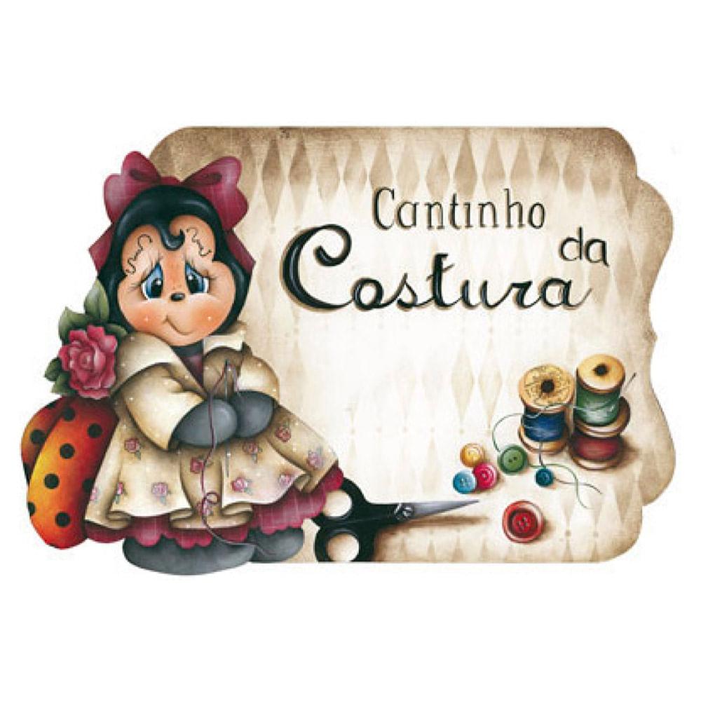 Placa Decorativo Cantinho Da Costura 35x25cm Em Mdf Lpc 01  ~ Cantinho De Costura No Quarto E Nichos Para Quarto Menina