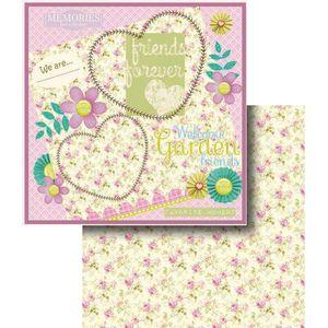 Papel-Scrapbook-Dupla-Face-flores-e-Coracao-LSCD-326---Litocart