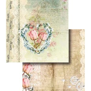 Papel-Scrapbook-Dupla-Face-Coracao-de-Flor-LSCD-328---Litocart