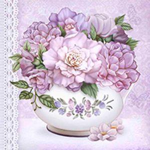 Papel-Decoupage-Adesiva-15x15cm-Vaso-com-Flor-DAXV-030---Litoarte