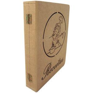 Caixa-Livro-Receitas-Escrita-com-Cozinheira-Vazado---MDF