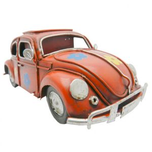 Porta-Canetas-Fusca-Retro-em-Metal-Vermelho-Miniatura---The-Home