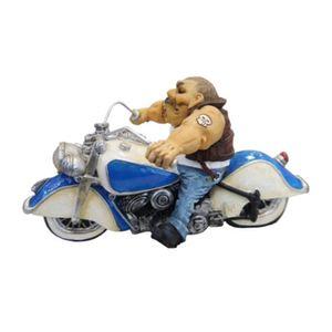 Motoqueiro-Harley-Gordinho-Forte-em-Metal-Miniatura---The-Home
