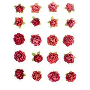 Flores-Artesanais-Feito-a-Mao-Mini-Rouge-FLOR93---Toke-e-Crie