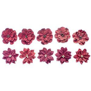 Flores-Artesanais-Feito-a-Mao-Classicas-Rouge-FLOR105---Toke-e-Crie