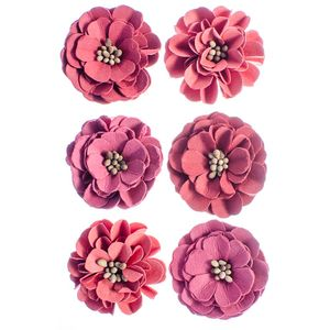 Flores-Artesanais-Feito-a-Mao-Lisiantus-Rouge-FLOR111---Toke-e-Crie