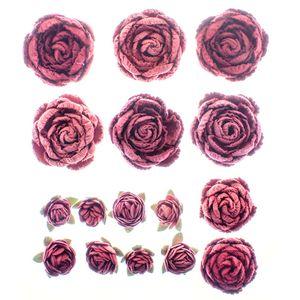 Flores-Artesanais-Rosas-Mistas-Rouge-FLOR117---Toke-e-Crie