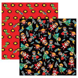 Papel-Scrapbook-Dupla-Face-Super-Herois-Meninos-SDF555---Toke-e-Crie