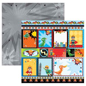 Papel-Scrapbook-Dupla-Face-Super-Herois-Tags-SDF559---Toke-e-Crie