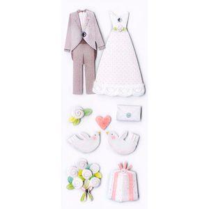 Adesivo-Fofinho-Casamento-Noivos-e-Pombos-AD1661---Toke-e-Crie