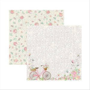 Papel-Scrapbook-Dupla-Face-Primavera-Marshmallow-Bicicleta-SDF563---Toke-e-Crie-by-Ivana-Madi