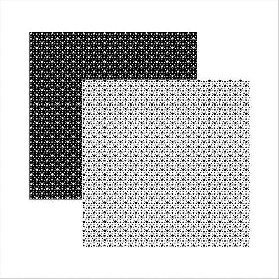 Papel-Scrapbook-Basico-Preto-e-Branco-Estrelas-KFSB361---Toke-e-Crie-by-Ivana-Madi