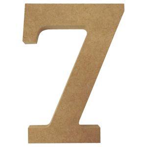 Enfeite-de-Mesa-Numero--7--12cm-x-18mm---Madeira-MDF