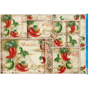 Papel-Decoupage-49x34-Peppers-Pimentas-PD-799---Litoarte