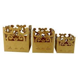 Trio-de-Vasos-Cachepot-Flores---MDF-a-Laser
