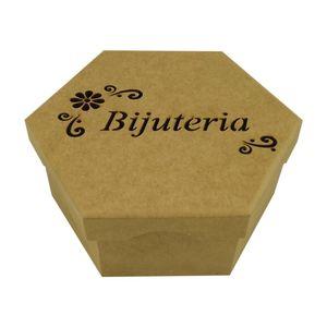 Caixa-Bijuterias-Flores-Sextavada-Tampa-de-Sapato-4-Divisoes---Madeira-MDF