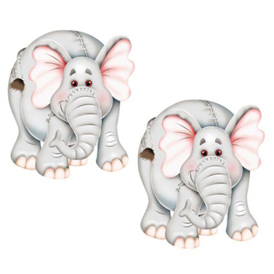 Aplique-MDF-Decoupage-com-2-Unidades-Elefante-LMAP-001---Litocart