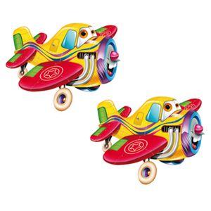 Aplique-MDF-Decoupage-com-2-Unidades-Aviao-Feliz-LMAP-058---Litocart