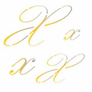 Estencil-para-Pintura-Simples-14x14-Manuscrito-X-OPA1819---Opa