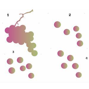 Estencil-Wall-para-Pintura-Simples-20X25-Frutas-Uva-OPA1792---Opa