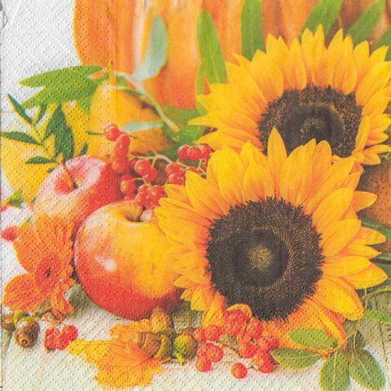 Guardanapo-de-Papel-Girassois-e-Frutas-2un-PDC087900---Toke-e-Crie