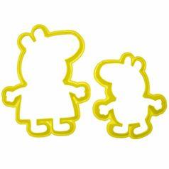 Jogo-Cortadores-Confeitaria-e-Biscuit-Porquinhos-Pepa-com-2-pecas---Blue-Star