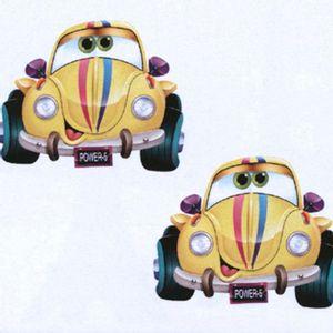 Aplique-MDF-Decoupage-com-2-Unidades-Carro-Fusca-Amarelo-LMAP-056---Litocart