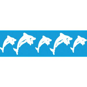 Stencil-para-Pintura-Barra-295x85-Golfinhos-LS-001---Litocart