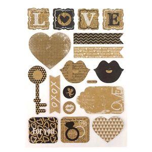 Adesivo-Kraft-Decorativo-Amor-4-Cartelas-AD6535---Toke-e-Crie