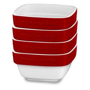 Conjunto-de-Pote-Ceramico-Ramekin-com-4-Pecas-Quadrado-Vermelho-KI764AXONA---KitchenAid
